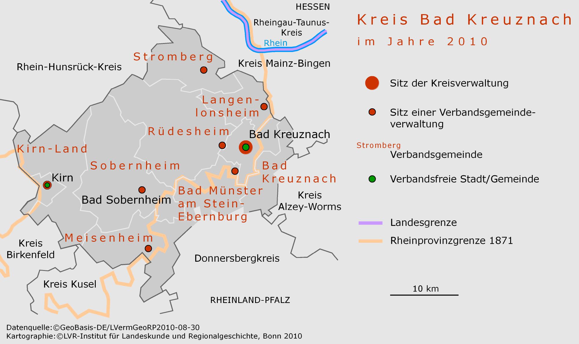 Kreis Bad Kreuznach | Portal Rheinische Geschichte