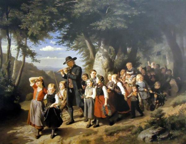 Genremalerei berühmt  Die Düsseldorfer Malerschule im 19. Jahrhundert | Portal Rheinische ...