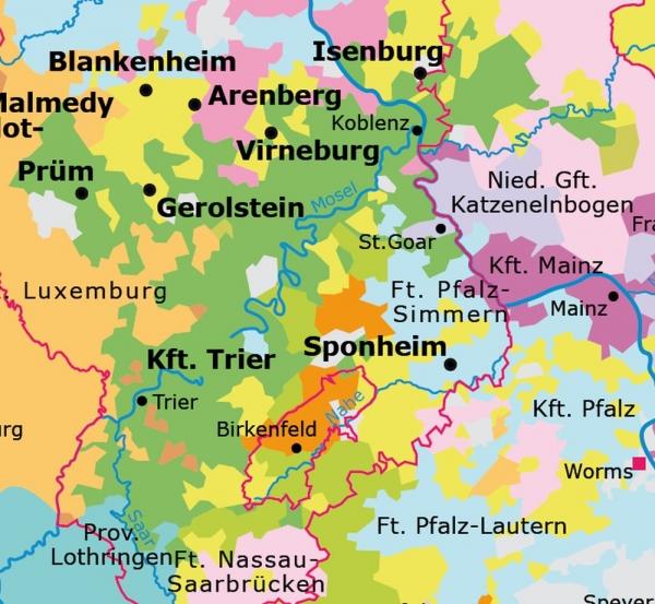 Kurfurstentum Trier Portal Rheinische Geschichte