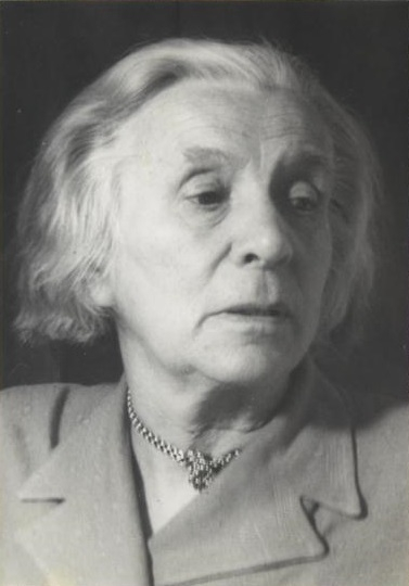 Marta Worringer (1881-1965), Frankfurt am Main 1951