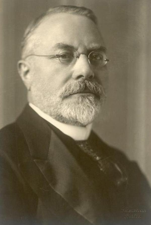 Walther Wolff, Porträtfoto